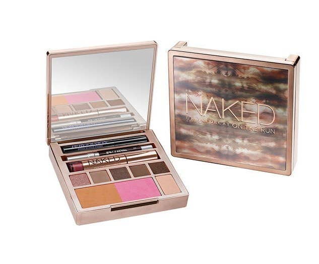 This highly rated palette from Urban Decay has everything you need to look pretty on the road including six eyeshadows, a bronzer, blush, lipgloss, mascara, and eyeliner--all tucked away in a cute little box that will cheer up any hostel bathroom.$32 (normally $54) at Urban Decay