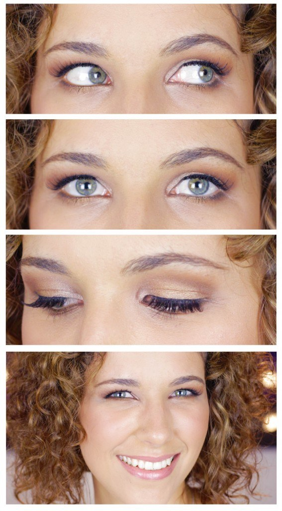 Natural makeup for hooded eyes