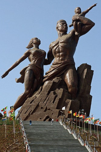This 160 foot tall bronze statue of a strong black family is sure to be #FamilyGoals after you see it. Since its unveiling in 2010, this statue has been a sign of independence for the people of Senegal. And according to Malawian President Bingu of Senegal, the statue represents standing tall and taking destiny into our own hands for African people wherever we may be.