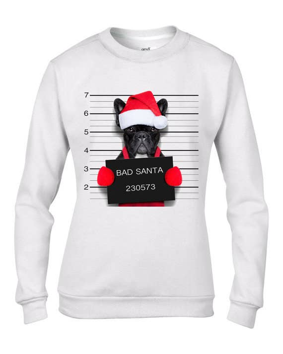 French Bulldog Christmas Jumper.17 Amazing Christmas Jumpers You Simply Must Have