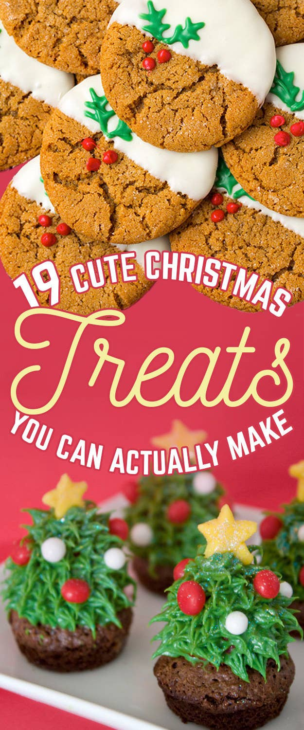 19 amazingly cute ideas for christmas treats that you can actually make share on facebook share forumfinder Image collections
