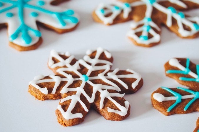 For when you have an hour to frost one cookie. - recipe here
