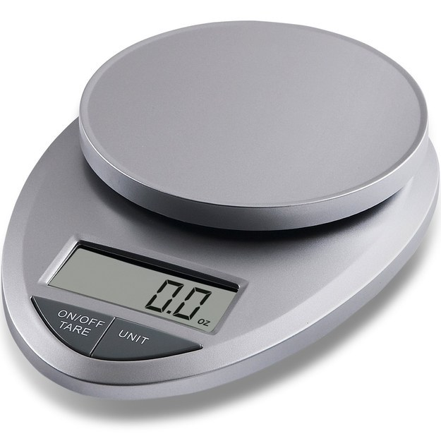 A FOOD SCALE, for perfect portion control (and better baking).