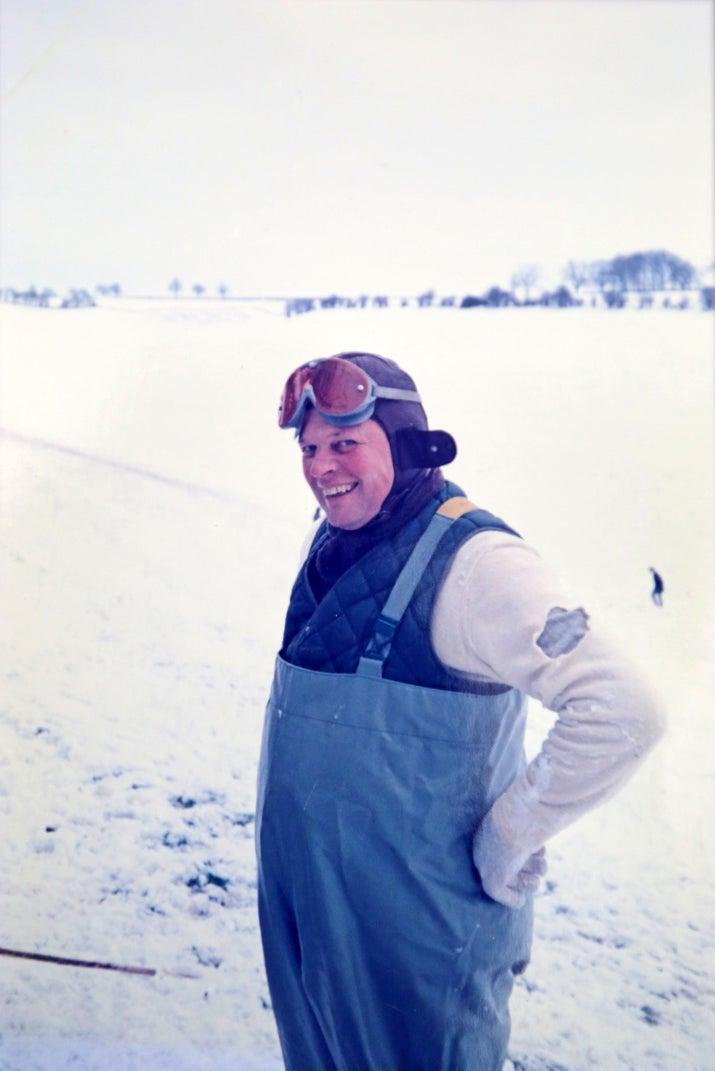 Gordon Dawson in the early 1980s.