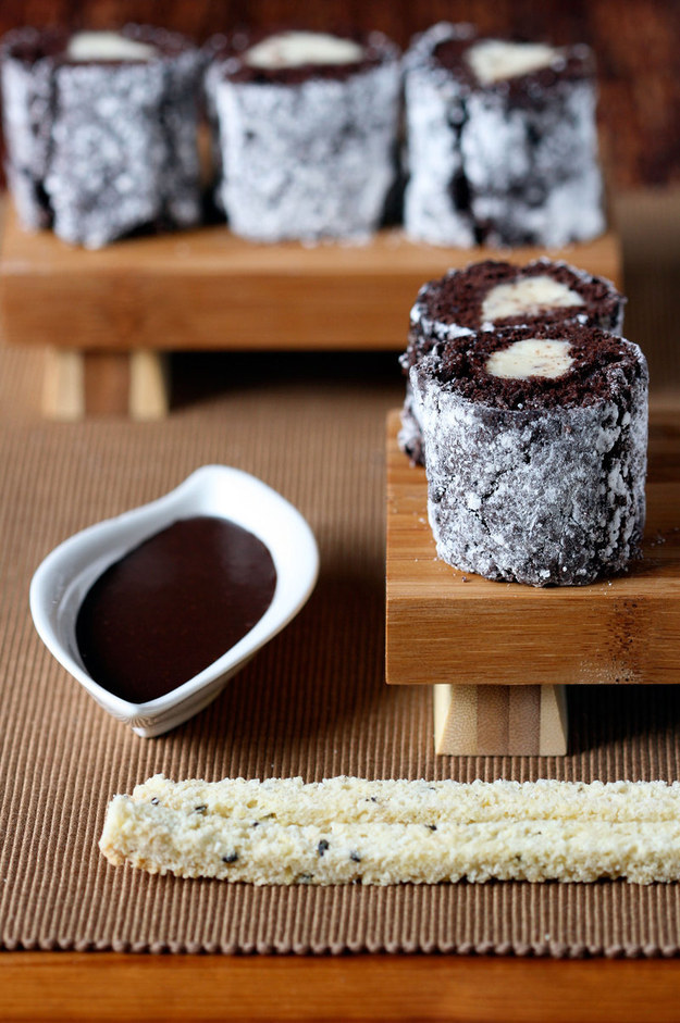 "The time sushi was like, ""HEY TODAY I WANT TO BE CHOCOLATE TIRAMISU AND NO ONE CAN STOP ME."""