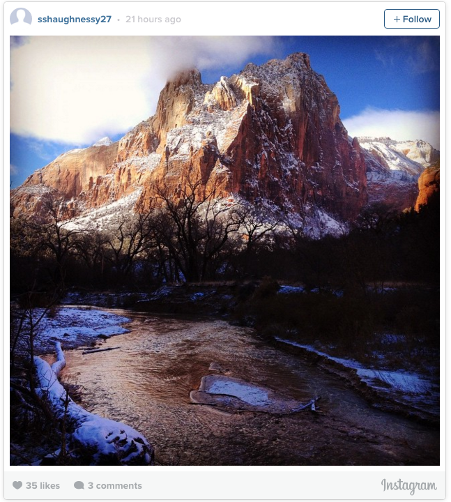 Places To Live Near Zion National Park: 51 Of America's Most Instagrammed Places In 2015