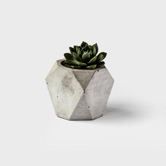 concrete planter geometric look designs
