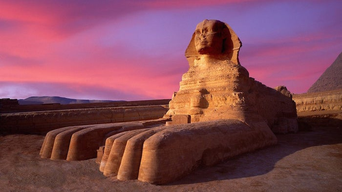 These are some of the greatest attractions the world has to offer. Our ancestors built the pyramids when Egypt was the richest and most powerful place in the world and the Great Pyramid of Giza is the only remaining Wonder of the Ancient World. The Great Sphinx of Giza is the largest monolithic structure in the world, and despite its nose being gone, it still represents our African History. You can also visit the Nile, the largest river in the world while you're here, or while you're in any of the other African countries it flows through.