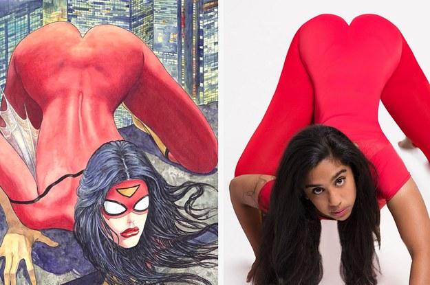 Super hero women big tits