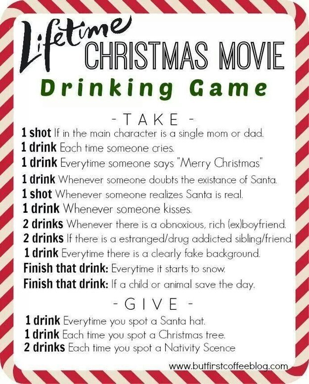 10 christmas movie drinking games you 39 ll want to play this for How do i find the name of a movie
