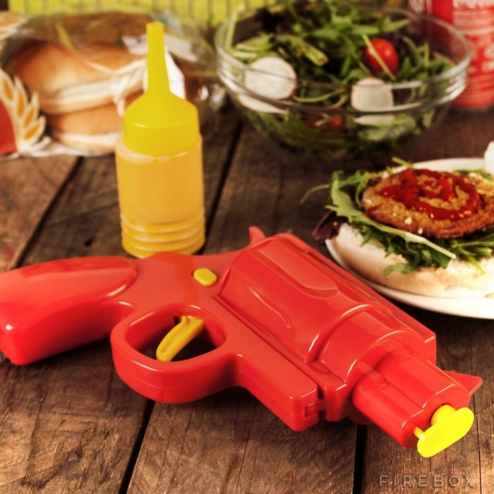 Ain't nobody got time for those glass ketchup bottles. Get it here.