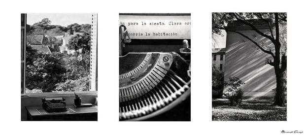'Siempre empezó a llover', muestra de fotos tomadas en el cuarto donde supo vivir Cortázar.