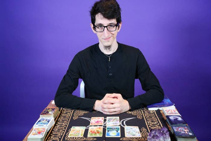 Arthur Lipp-Bonewits is a New York-based tarot reader, astrologer, angel medium, and psychic.
