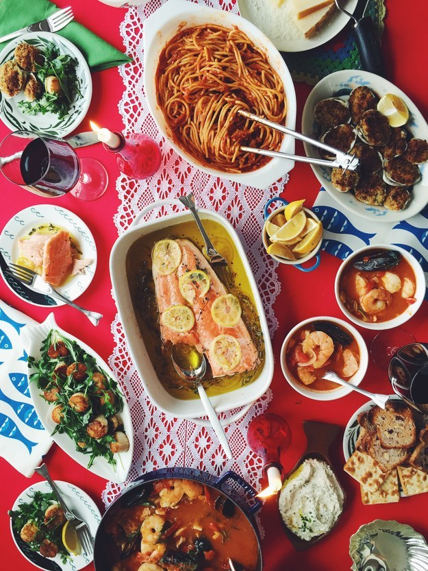 How to cook a real feast of the seven fishes for Feast of the fishes