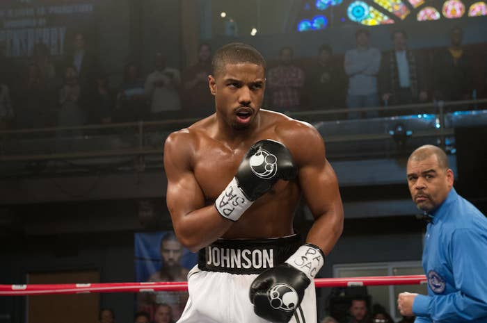 "The first official professional match for boxer Adonis Creed (Michael B. Jordan) is also his first with legendary boxer Rocky Balboa (Sylvester Stallone) in his corner as his trainer. To fully capture the ""holy shit"" quality of the experience, director Ryan Coogler chose to film it in one, unbroken take. The result is a thrilling moment for Adonis and Rocky, and an astonishing feat of filmmaking."
