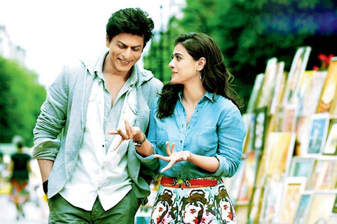 Here S The Dilwale Scene That Literally Copied The Most Iconic