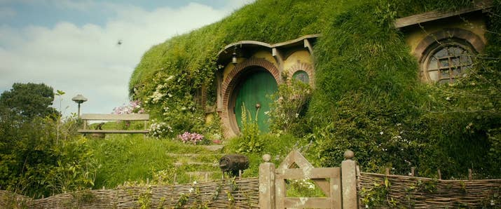 Either way, you can now live out your magical existence in an IRL HOBBIT  HOLE.