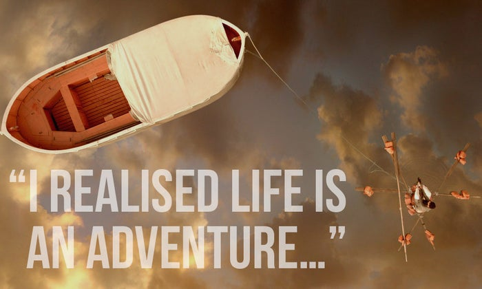 """""""I realised life is an adventure and isn't truly what is seems, but if we stay true to ourselves and our beliefs we will find home again, that our inner-demons can be tamed, and they will leave us when we are truly ready to discover the world ahead.""""Submitted by Aubrey Gealsha, Facebook"""