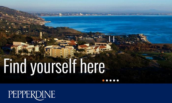 Pepperdine University website