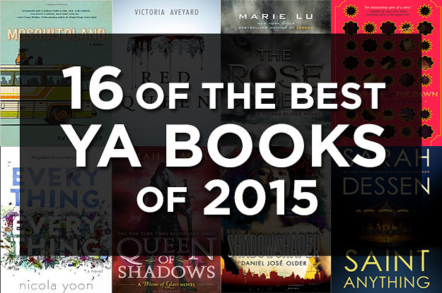 206 Best Nooks Images On Pinterest: 16 Of The Best YA Books Of 2015