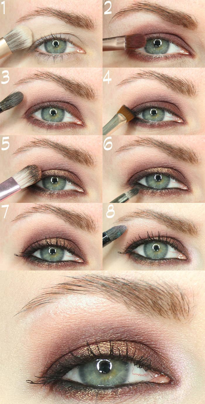 It's Best To Apply Makeup With Your Eyes Open, Because It Can Be Hard To  Find Your Natural Crease With Your Eyes Closed