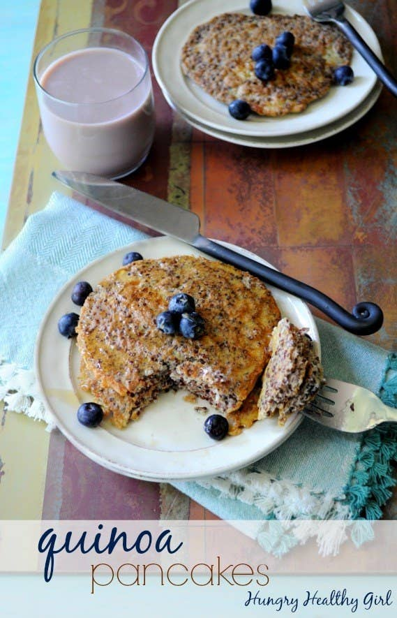Great news: You probably have all the ingredients you need for these pancakes already in your pantry. Better news: If you're gluten-free, so are these! Recipe here.
