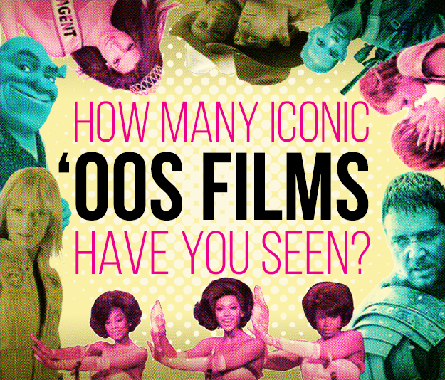 How Many Iconic '00s Films Have You Seen?