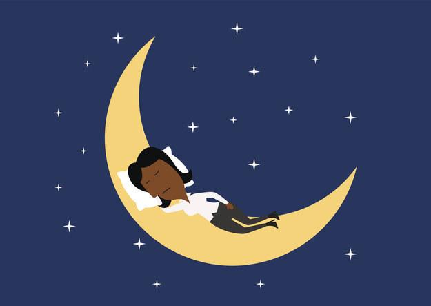 On dort moins bien les nuits de pleine lune.