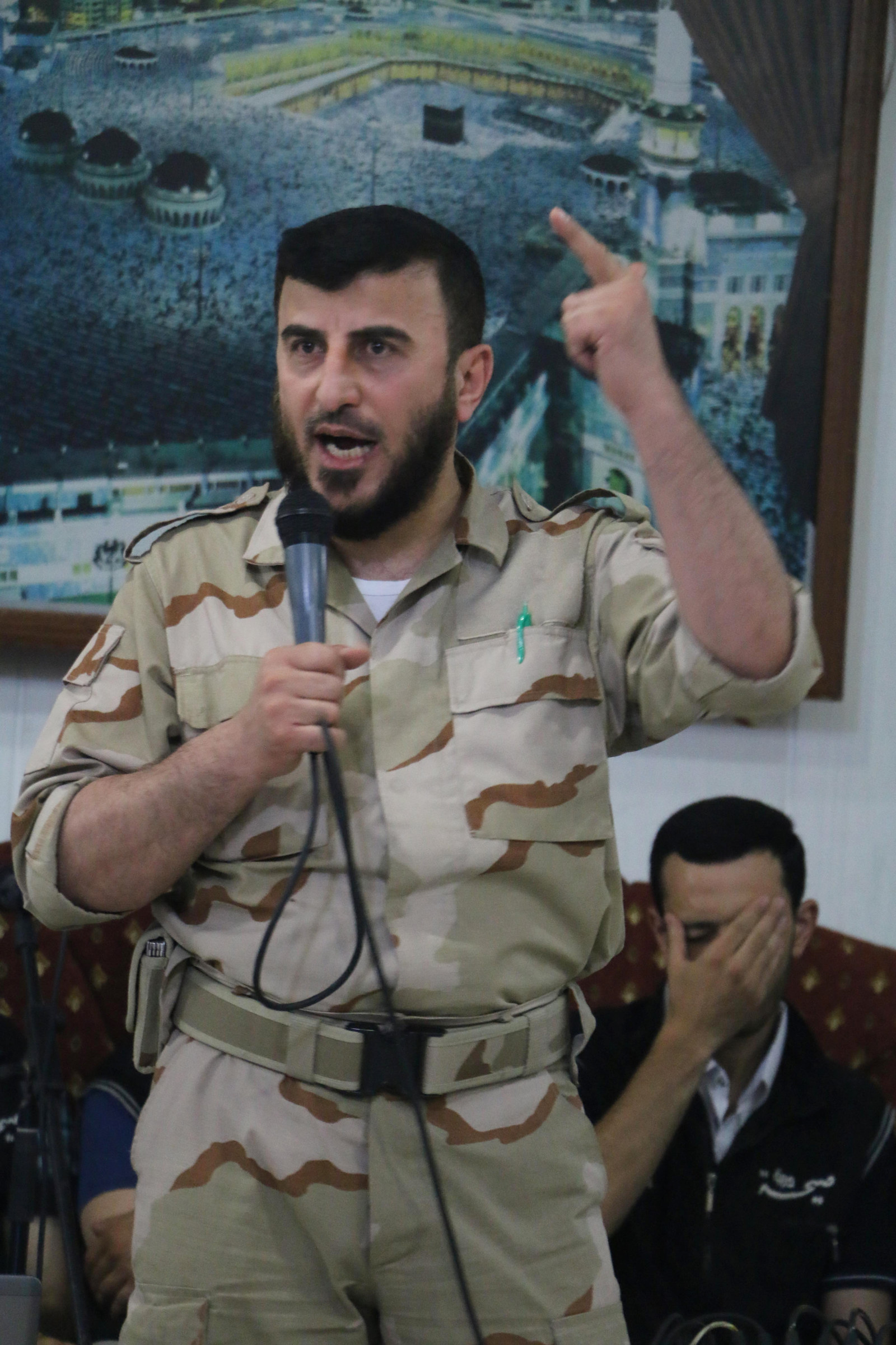 Top Syrian Rebel Leader Killed In An Airstrike Near Damascus