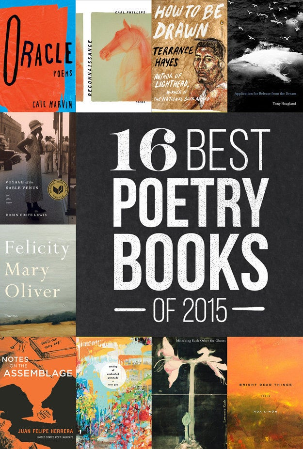 The 16 Best Poetry Books Of 2015