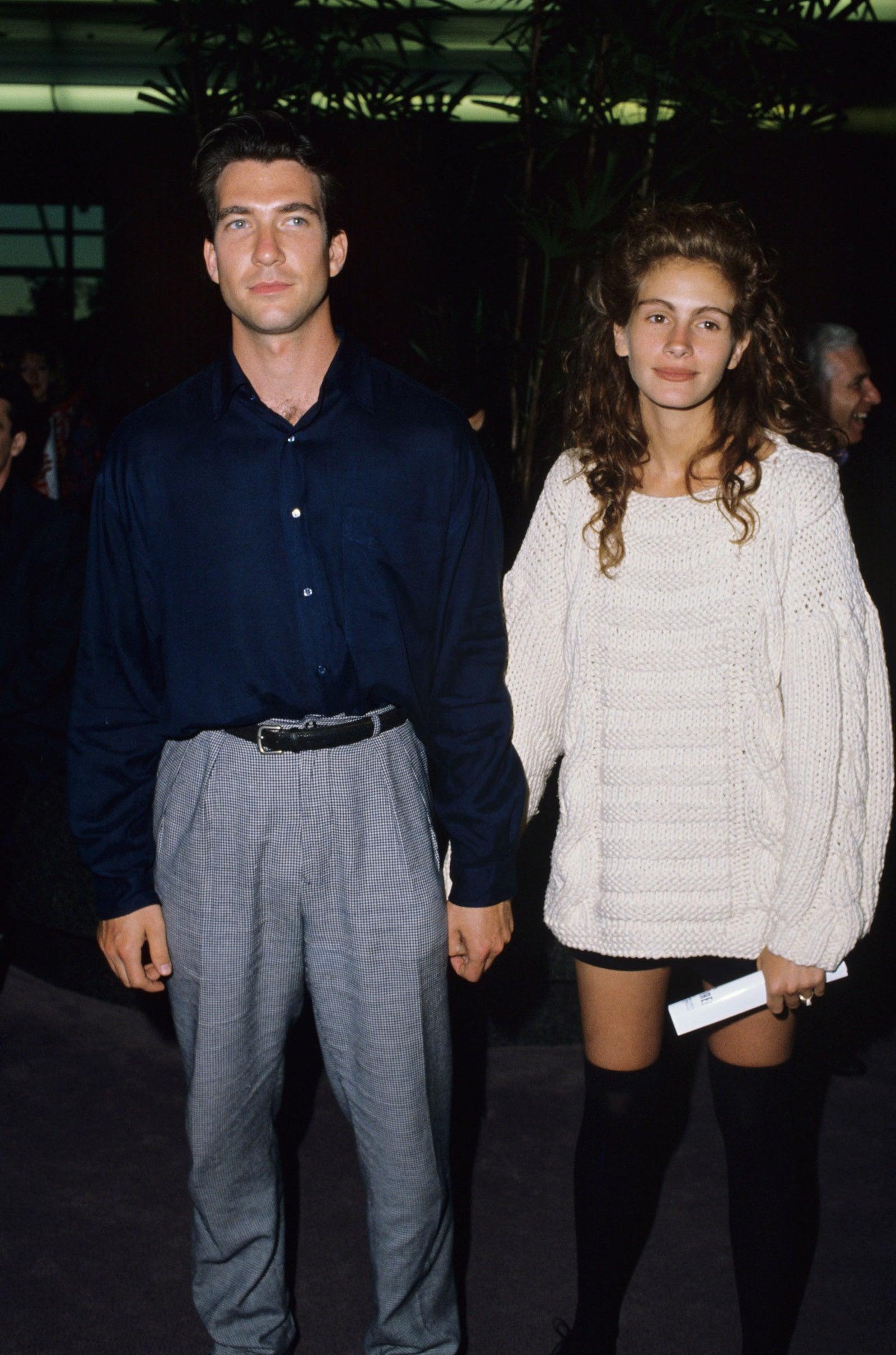 Julia Roberts and fiance Dylan McDermott