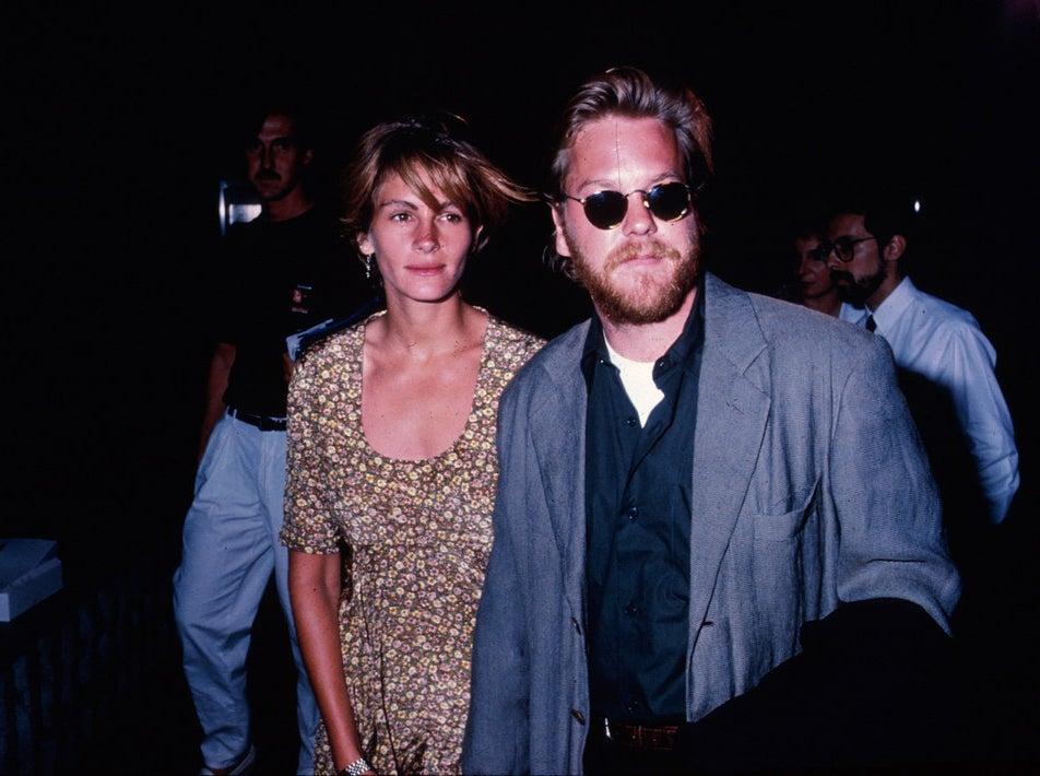 Julia Roberts and fiance Kiefer Sutherland
