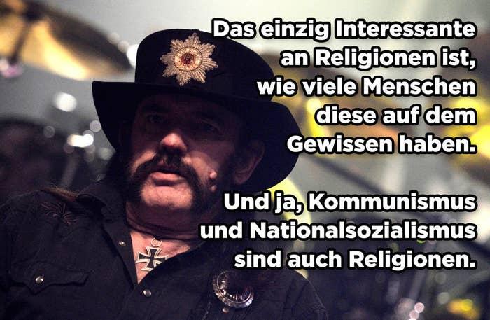 9 Spruche Mit Denen Lemmy Unvergessen Bleibt