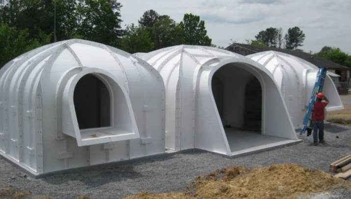 Cheap PreFab Hobbit Houses Are A Thing And Theyre Whimsical AF - Hobbit type house