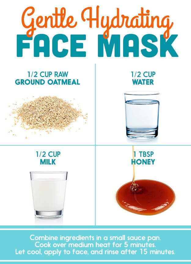 DIY Pinterest Face Masks