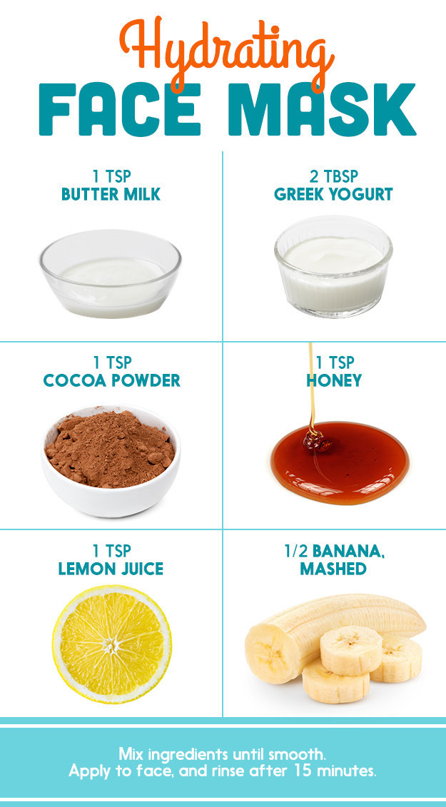 hydrating face mask diy