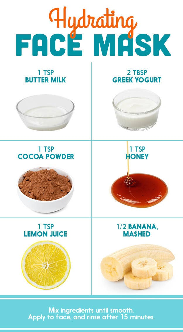 Heres what dermatologists said about those diy pinterest face masks lemon juice honey buttermilk cocoa greek yogurt banana in various combinations solutioingenieria