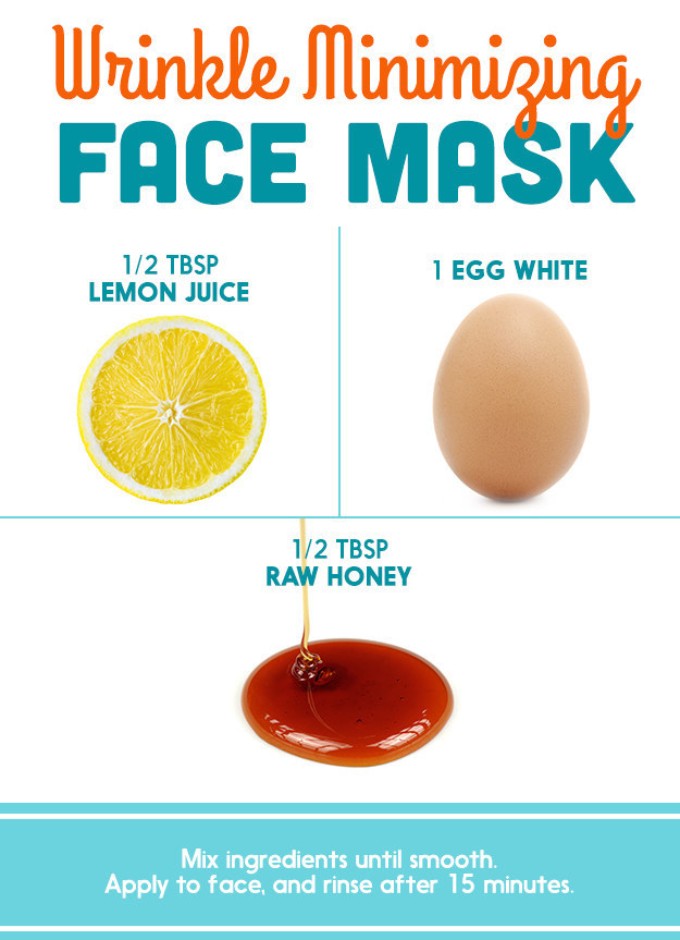 Honey and egg facial