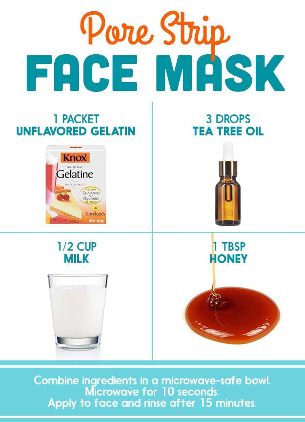 Heres what dermatologists said about those diy pinterest face masks common claims many sites claim that masks like this have a bior pore strips solutioingenieria Images