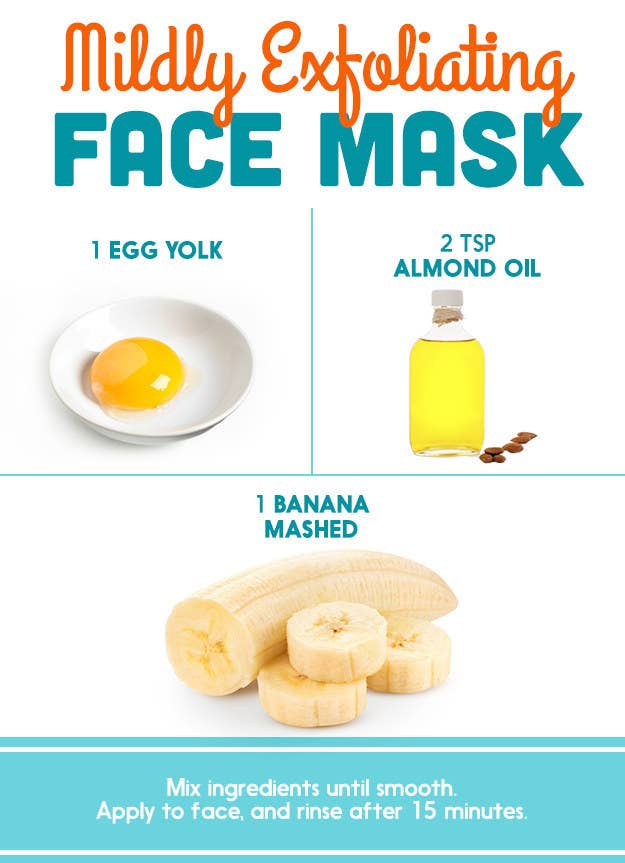 Heres what dermatologists said about those diy pinterest face masks common claims the banana is anti aging the oil is hydrating and solutioingenieria Choice Image