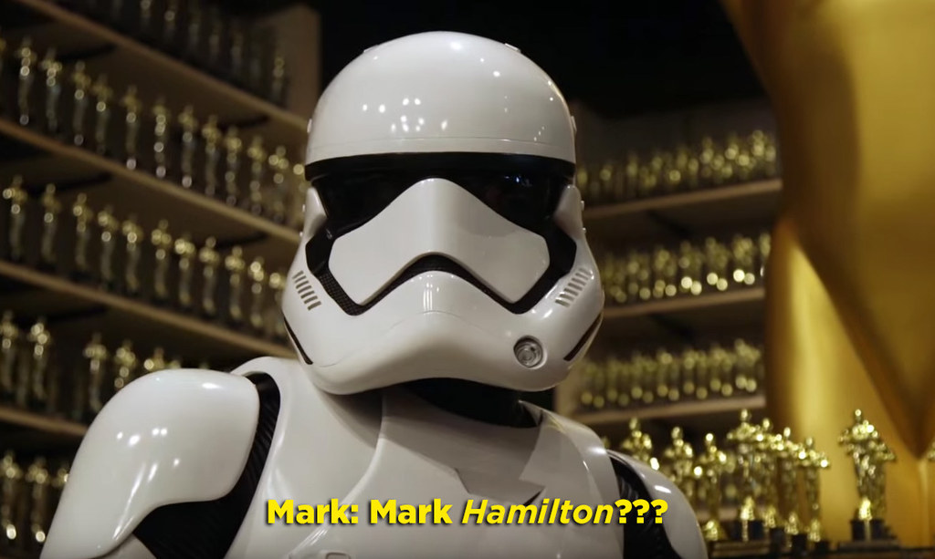 Mark Hamill Went Hilariously Undetected Dressed As A Stormtrooper On Hollywood Boulevard