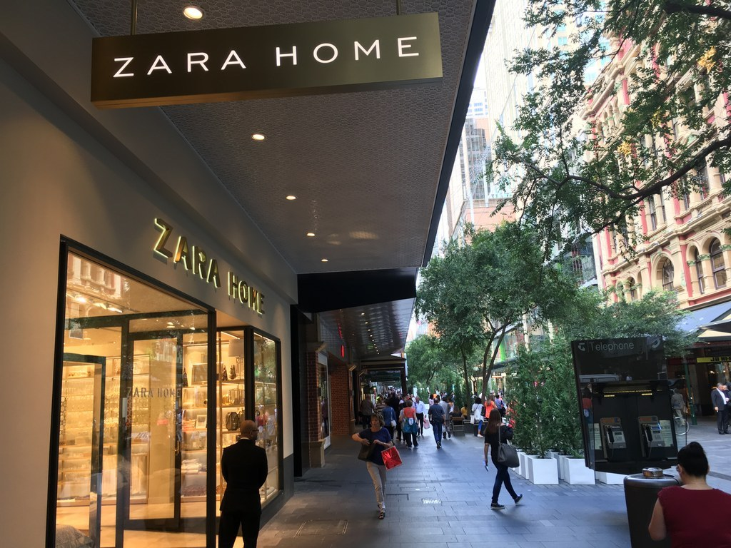 australiaus first zara home outlet opened in melbourneus highpoint shopping centre in february to coincide