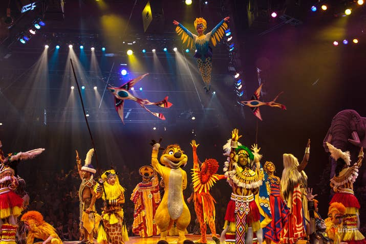 Image result for festival of the lion king disney world