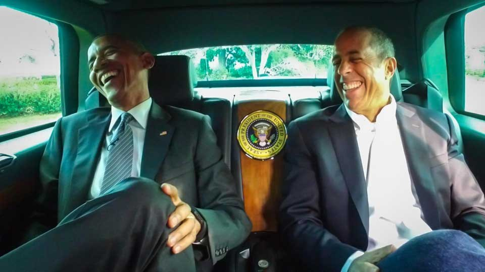 "President Obama's ""Comedians In Cars Getting Coffee"" Episode Is Hilarious"