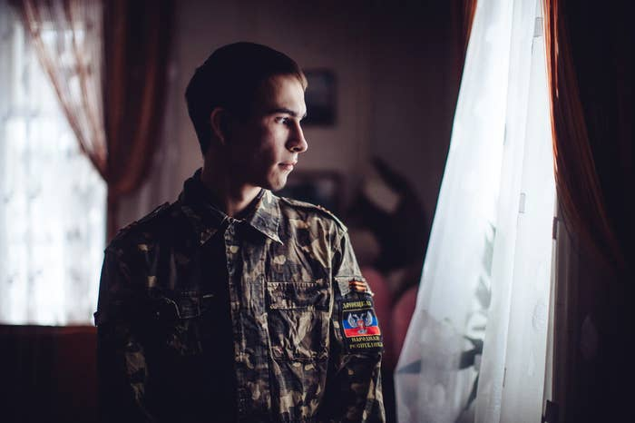 Max Seddon reported from the self-proclaimed Donetsk People's Republic to show how months of war had alienated people from the government in Kiev.