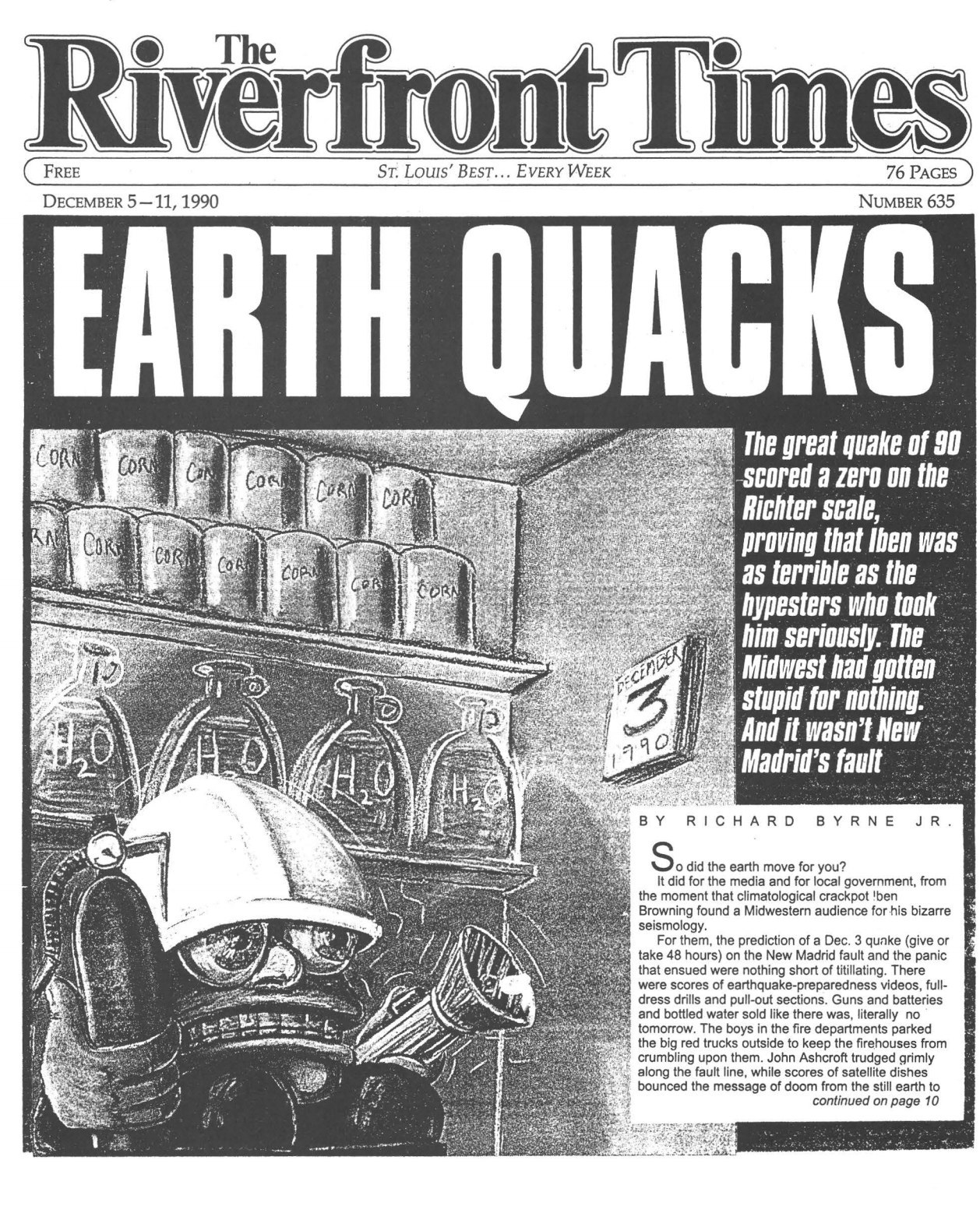 25 Years After The Great Missouri Earthquake That Never Happened
