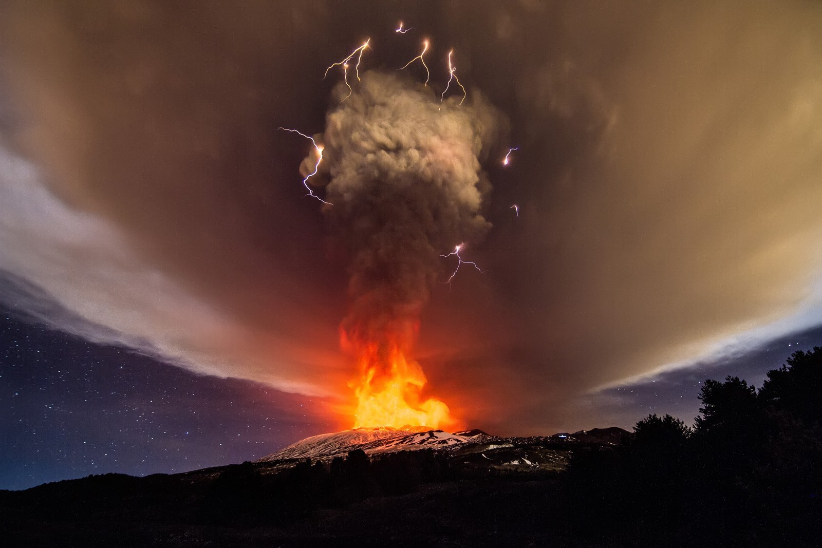 "You Need To See This ""Dirty Thunderstorm"" Over Mount Etna"