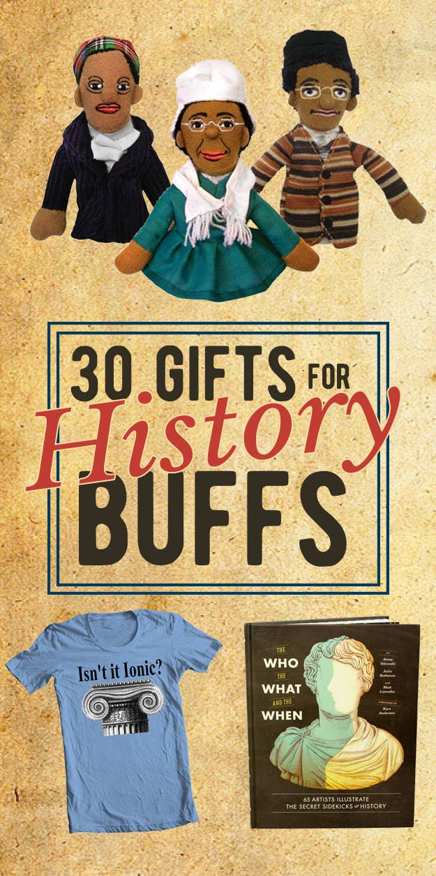 30 Gloriously Nerdy Presents Thatll Delight History Buffs