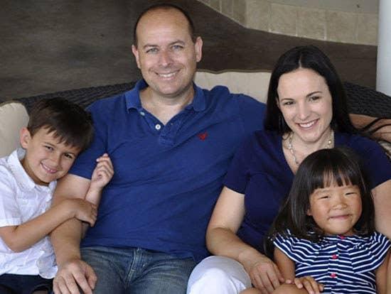 Matt and Melissa Johnson and their children