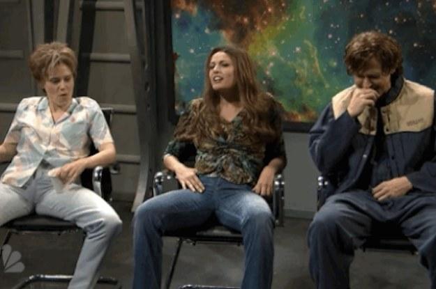 "Kate McKinnon Made Ryan Gosling Burst Out Laughing On ""Saturday Night Live"""
